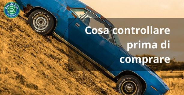 Cosa controllare quando si acquista un'auto usata