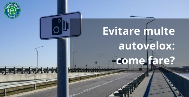 Come evitare le multe dell'autovelox