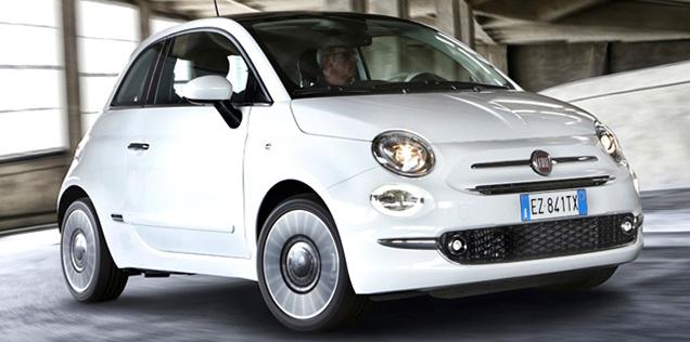 6 posizione Fiat 500 classifica auto più vendute in Italia 2016