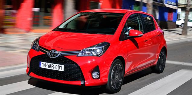 10 posizione Toyota Yaris classifica auto più vendute in Italia 2016
