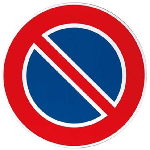 segnale divieto di sosta