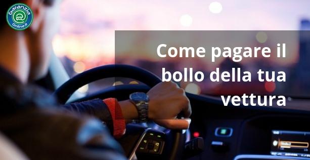 come pagare il bollo auto