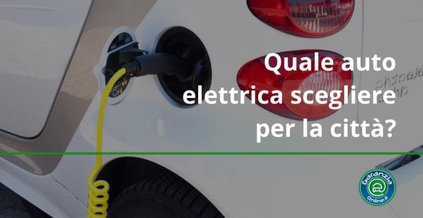 Novità auto elettriche