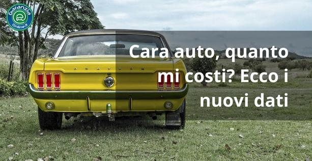 Quanto costa l'auto agli italiani