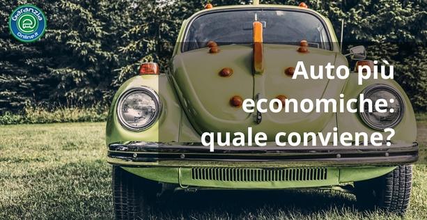 auto più economiche