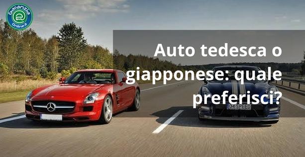 auto tedesca o giapponese