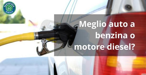 meglio diesel o benzina