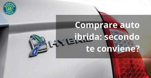 L'auto ibrida conviene veramente?