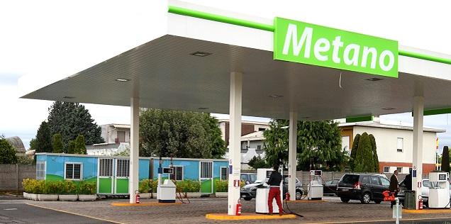 diffusione distributori per auto a metano