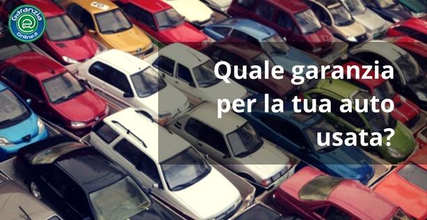 Quale garanzia sull'acquisto dell'auto usata?
