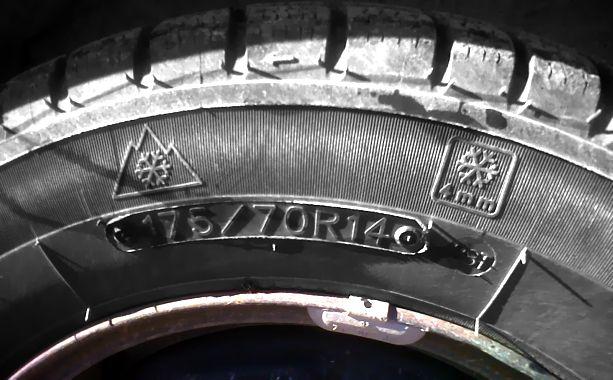 simboli pneumatici invernali