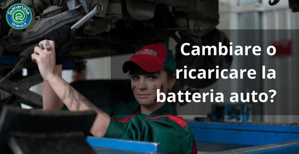 Batteria auto scarica: come ricaricarla e cambiarla