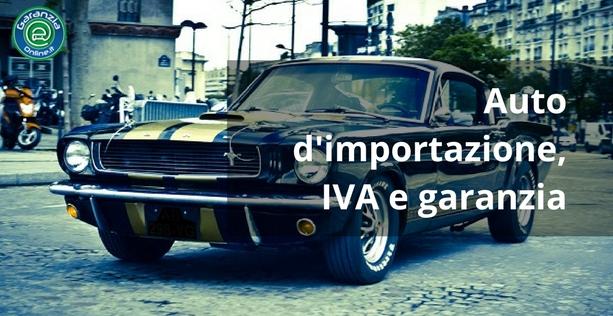 auto d'importazione