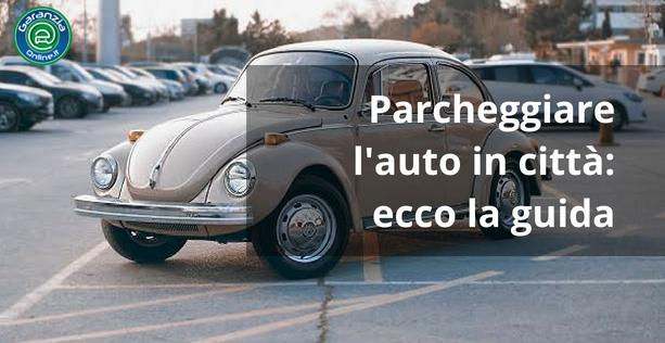 parcheggio sulle strisce