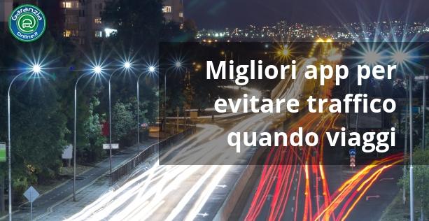 App iPhone e Android per evitare il traffico