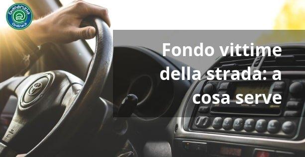Fondo vittime della strada: cos'è e a cosa serve