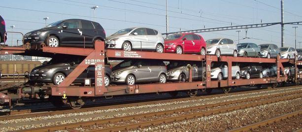 trasportare auto sul treno