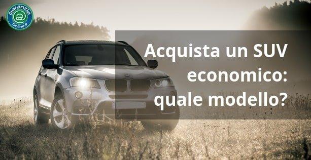 5 piccoli SUV economici per il 2019