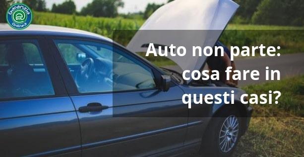 Auto non si accende: come risolvere?