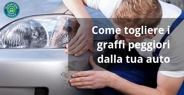 Graffi auto: come eliminarli senza far danni