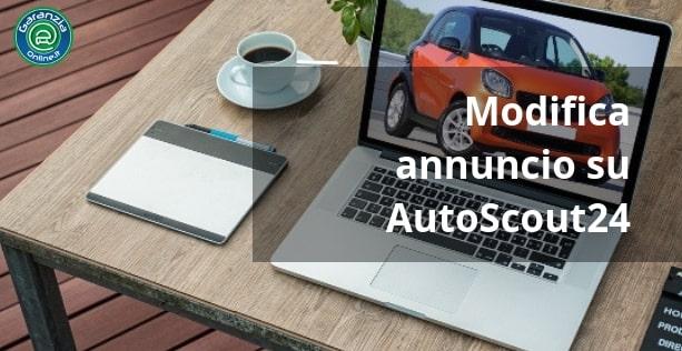 Come modificare un annuncio su AutoScout24