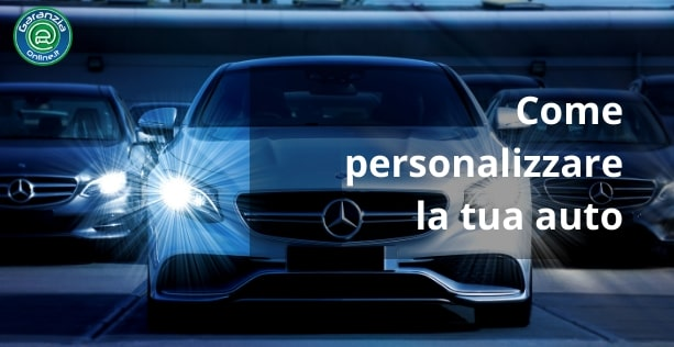 Come personalizzare l'auto con 10 accessori