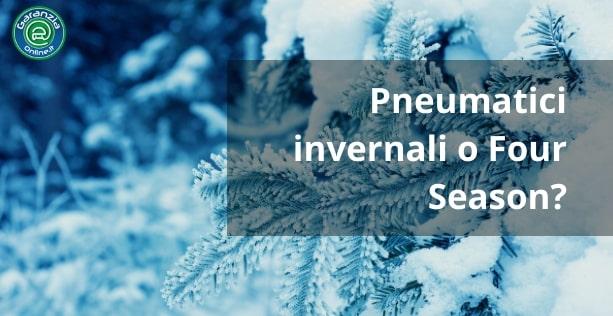 Meglio pneumatici invernali o 4 stagioni