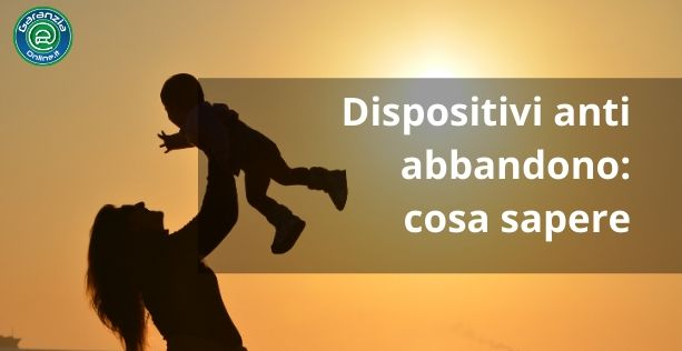Dispositivo anti abbandono