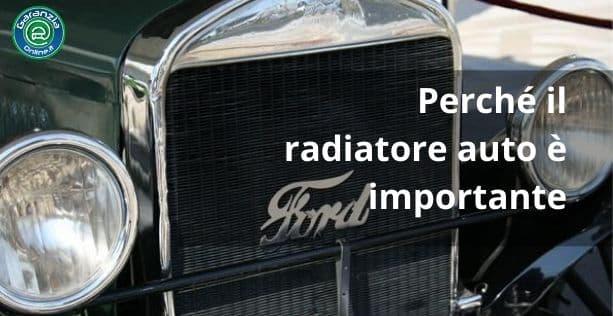 radiatore auto