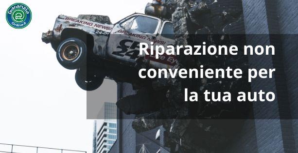 riparazione antieconomica del veicolo