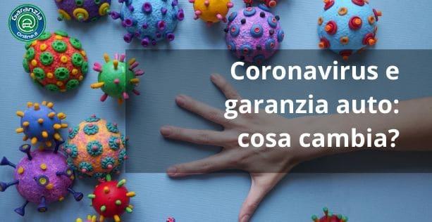 garanzia auto e coronavirus