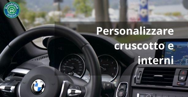idee per personalizzare abitacolo auto