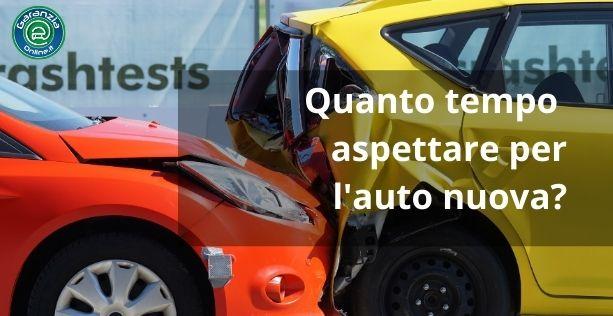 Tempi lunghi per la riparazione dell'auto in garanzia