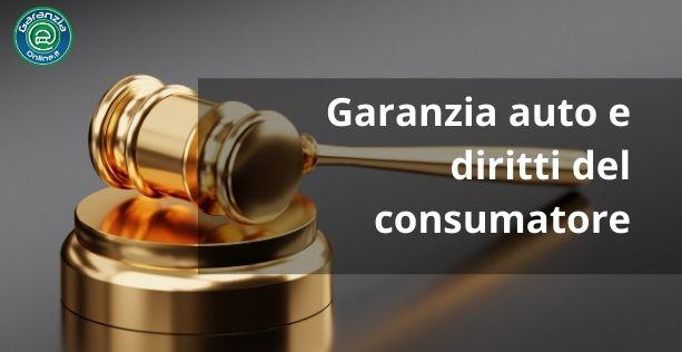 auto in garanzia diritti del consumatore