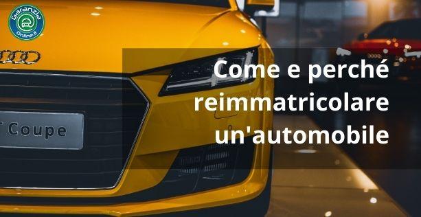 reimmatricolazione auto